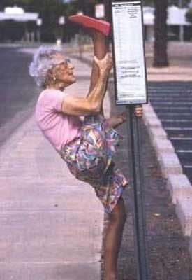 Granny Stretch