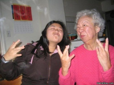 Granny Thugged Out