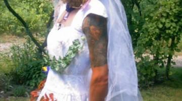 Cross Dressing, Bride, gay tranny
