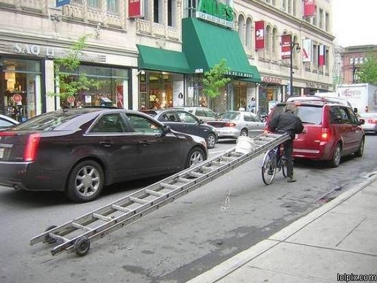 Bike Tow Ladder