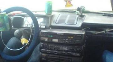 Ghetto Rigged Car Audio