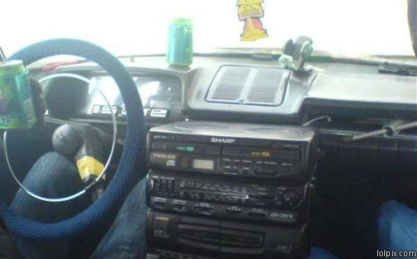 Ghetto Rigged Car Audio