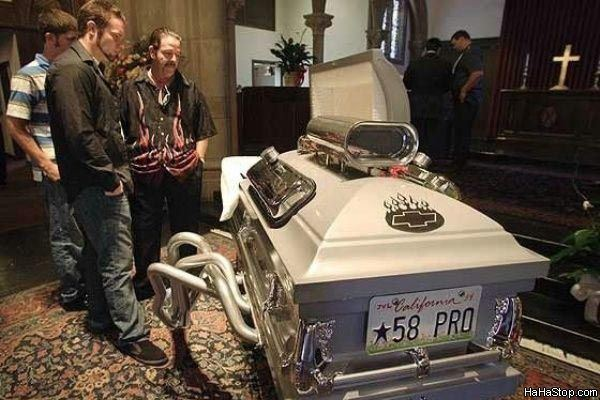 Bizaar Coffin