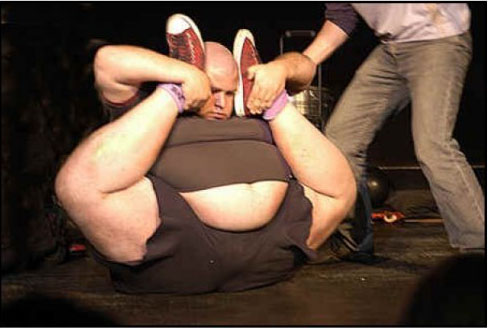 Incredible Fat Contortionist
