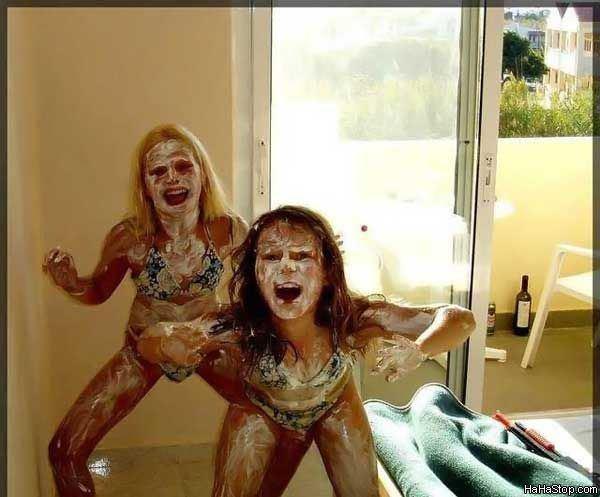 Strange Body Paint