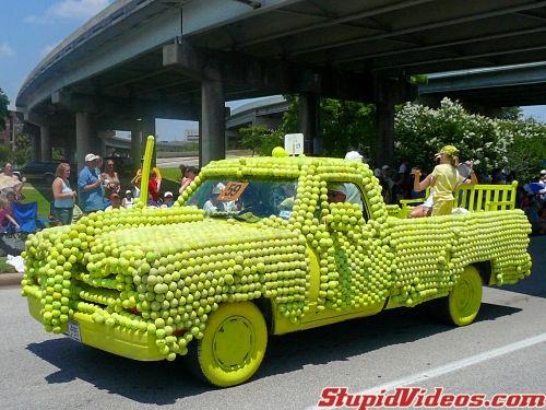 Tennis Ball Truck