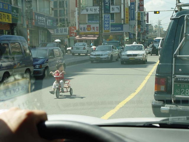 Tricycle-In-Traffic