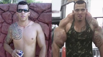Man Tries To Look Like The Hulk But Turns Out To Be An Abomination
