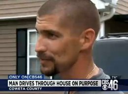 This Man Drove A Truck Through His Own House, Wait Until You Hear Why He Did It