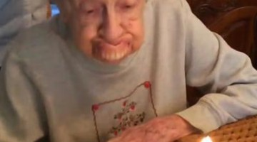 This Birthday granny blowing out Her candles Is Going To End Just The Way You Think