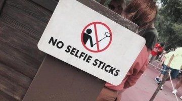 Disney Is Working Hard To Put An End To Selfie Sticks