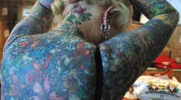 R.I.P.: This Is What The Most Tattooed Senior Citizen Looks Like