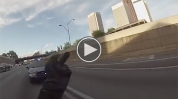 This Cop Thought He Was Going To Pull This Bike Rider Over For Speeding, Boy Was He Wrong