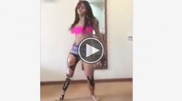Watch This Brazilian Woman With A Prosthetic Leg Wow Us With Her Amazing Dance Skills