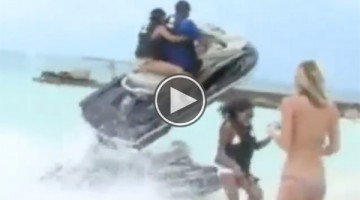 After Watching This You Will Know Why You Shouldn't Showboat in Front Of Girls On A Jet Ski