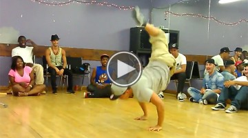 This Break Dancer Has One Leg But The Way He Moves Will Blow Your Mind