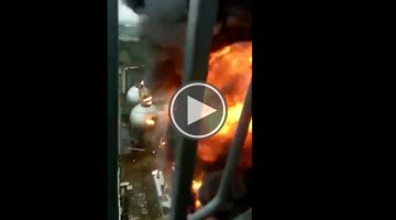 Watch This Gigantic Explosion at Chinese Chemical Plant