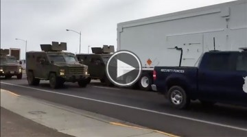 Nuclear Weapons Truck Gets Rear Ended In Military Motorcade