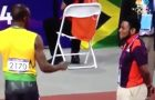 Bolt Fist Bumps Olympic Volunteer And What Happens Next Will Put A Big Smile On Your Face